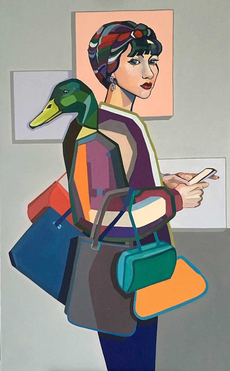 Agne Kisonaite - Painting 'Fashionista'
