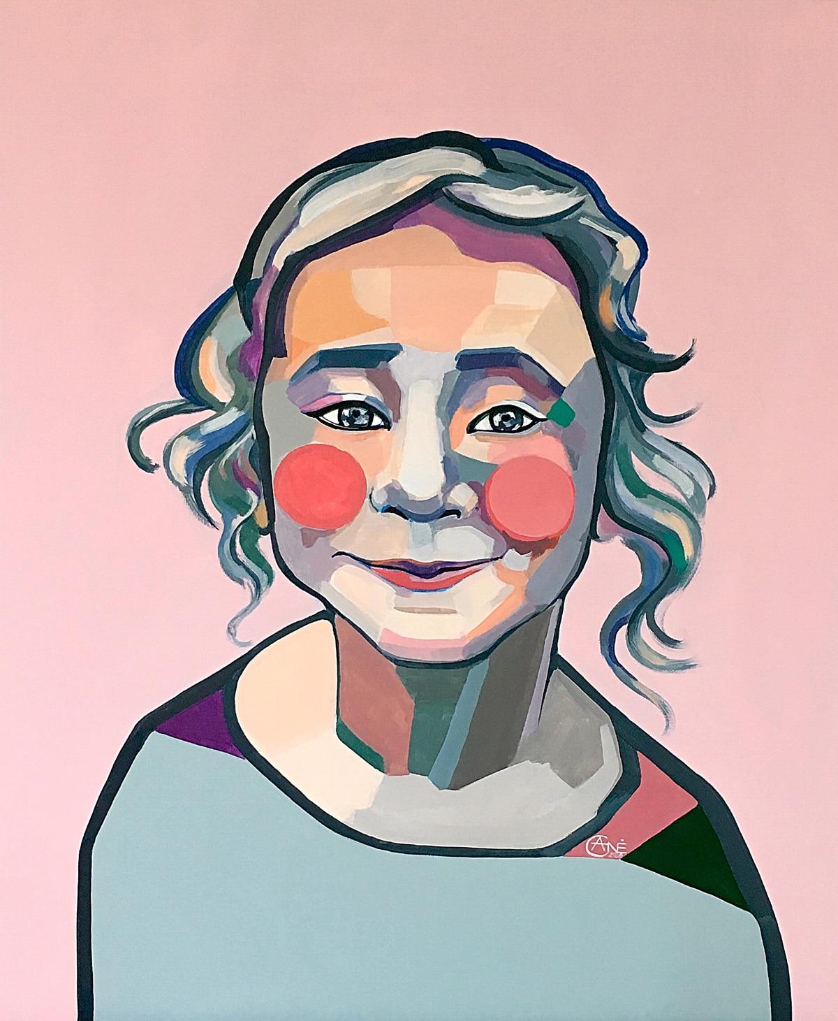 Agne Kisonaite - Portrait of Elena