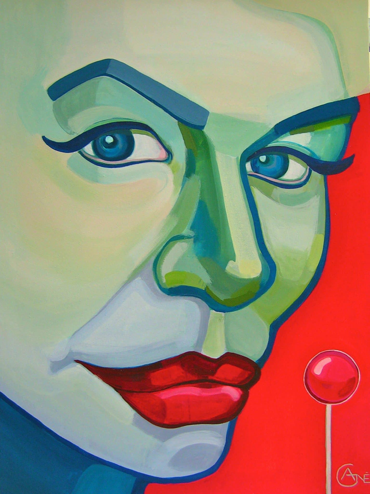 Painting 'Chupa Chups'. Author - Agne Kisonaite