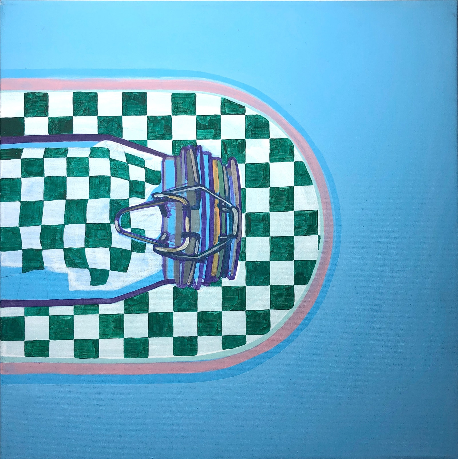 Painting 'Feed'. Author - artist Agne Kisonaite